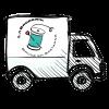 logo camion livraison