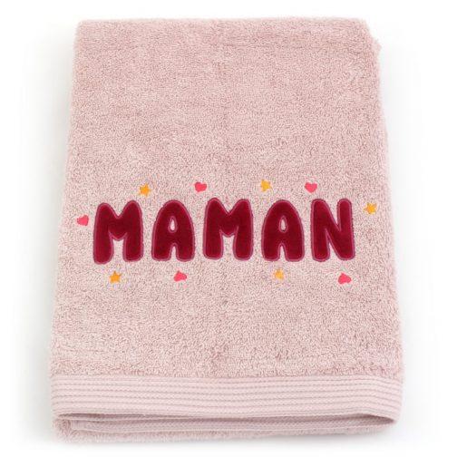 serviettes personnalisables chic maman