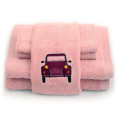 serviettes personnalisables chic 2CV