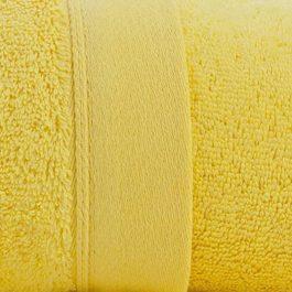 serviette personnalisable jaune