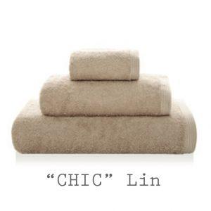 serviettes personnalisables chic LIN
