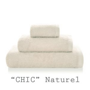 serviettes personnalisables chic naturel