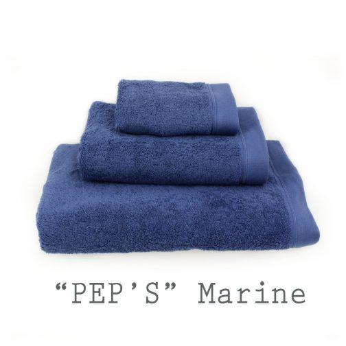 SERVIETTE PERSONNALISABLE marine