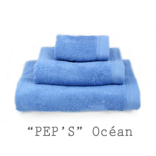 SERVIETTE PERSONNALISABLE peps océan