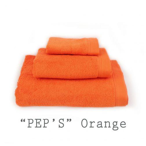 SERVIETTE PERSONNALISABLE peps orange