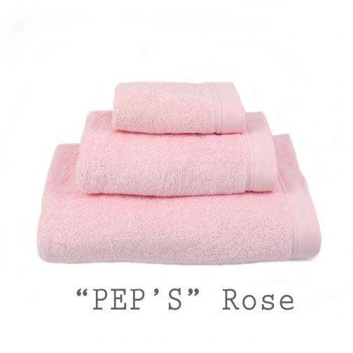 SERVIETTE PERSONNALISABLE peps rose