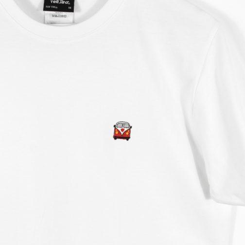 t-shirt blanc combi