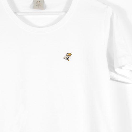 t-shirt blanc pélican