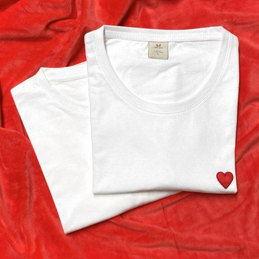 tshirts love coeur