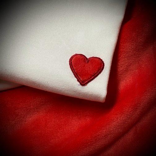 t-shirt coeur