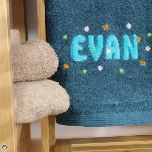 serviette personnalisée EVAN