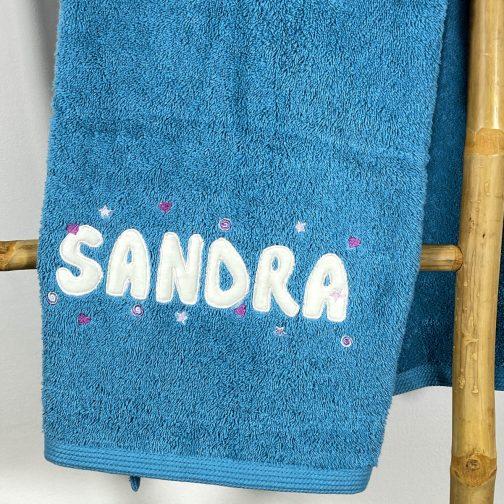 serviette personnalisée SANDRA