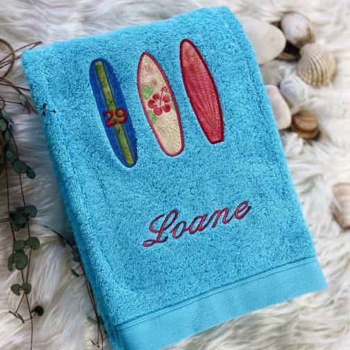 meilleur broderies personnalisées surf