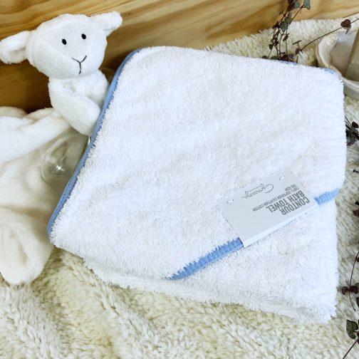 cadeau naissance personnalisé : Cape de bain luxe