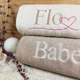 Draps de bain pour deux : le meilleur cadeau