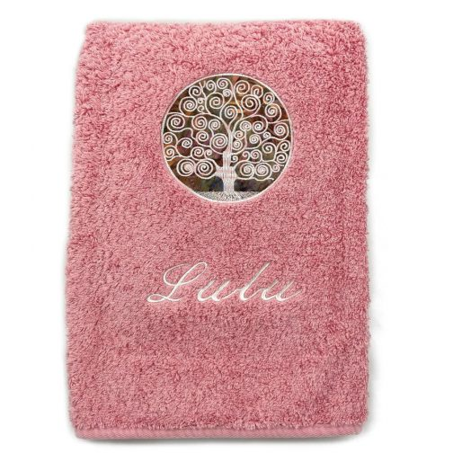 serviette luxe personnalisée Lulu