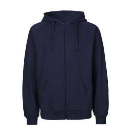 Sweat Zip homme à capuche avec logo brodé