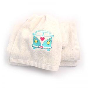 serviettes personnalisables chic combi